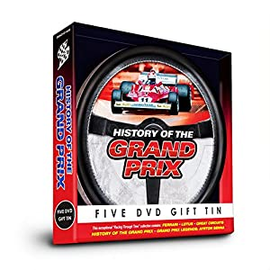 History Of The Grand Prix DVD Gift Tin (5 DVD Box Set) from Grand Prix