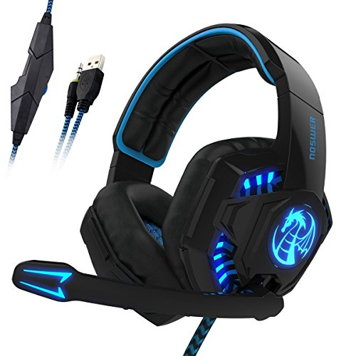 [Casque Gamer pour PS4] LIHAO I8S Stéréo Gaming Headset avec micro pour PS4 Gamer