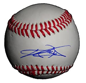 2012 AL All Star C.J. Wilson Autographed Signed ROLB Baseball, Los Angeles Angels of... by Southwestconnection-Memorabilia