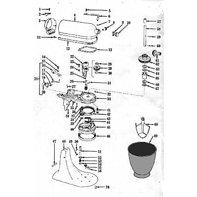 kitchenaid food mixer k4 b maintenance and repair manual edited by