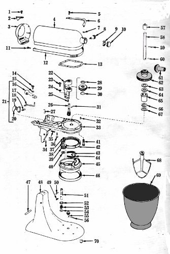 kitchenaid mixer repair manual