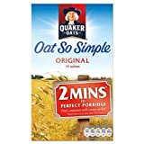 Quaker Oats Oat So Simple Original 5 x 12 sachets