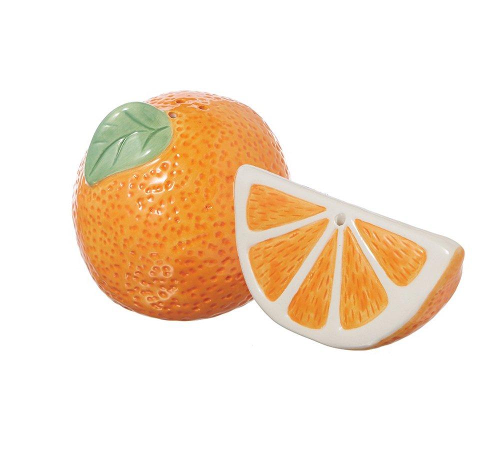 Orange Slice Salt and Pepper Shaker Set
