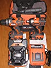 RIDGID 18-Volt X4 Hyper Lithium-Ion Cordless Drill and Impact Driver Combo Kit (3-Tool) with Radio