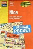 echange, troc Plans Blay Foldex - Plan de ville : Nice (avec un index)