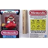 Nintendo Trophy Figure - Mario Runs From Bullet Bill ~ Hasbro/ Nintendo