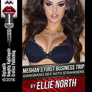 Meghan's First Business Trip: Gangbang Sex with Strangers Audiobook