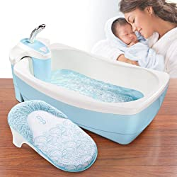 Summer Infant Lil' Luxuries Whirlpool Bubbling Spa and Shower Tub by Summer Infant