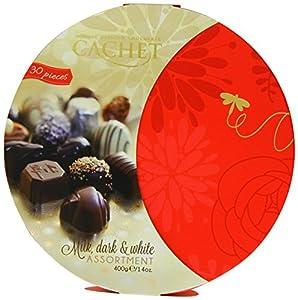 Cachet White, Milk and Dark Chocolate Assortment 400 g