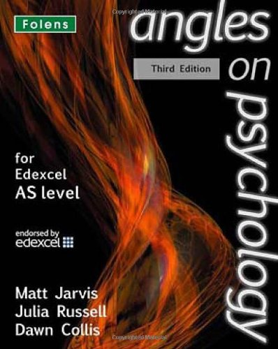 Angles on Psychology: As Student Book for Edexcel
