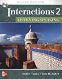 img - for Interactions/Mosaic: Silver Edition - Interactions 2 (Low Intermediate to Intermediate) - Listening/Speaking Class Audio CD book / textbook / text book