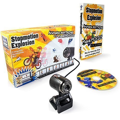 Stopmotion Explosion: Complete Stop Motion Animation Kit with HD Camera and Book (Windows & OS X) (Stop Motion Animation Software compare prices)