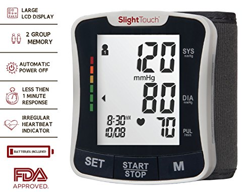 Slight Touch Wrist Digital Blood Pressure Monitor (Digital Blood Pressure Cuff compare prices)