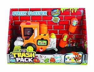 Giochi Preziosi 70217221 - Trash Pack Nummer 2 Kehrmaschine mit 2 Trash-Monstern