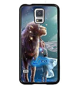 PRINTVISA Zodiac Leo Case Cover for Samsung Galaxy S5