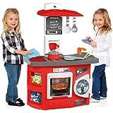 Molto - Cocina de juguete nueva, color rojo (13154)