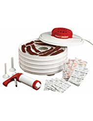 Nesco American Harvest FD-28JX Jerky Xpress Dehydrator Kit with Jerky Gun by Nesco