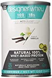 Designer Protein 100% Premium Whey Protein Powder, French Vanilla, 12-Ounce (Pack of 2)