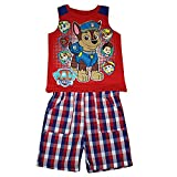 Nickelodeon Paw Patrol Tank Top Tee and Shorts Outfit Baby Boys'