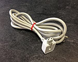 Ac Power Adapter Extension Wall Cord Cable for Apple Mac Ibook Macbook Pro Us Plug