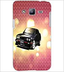 PrintDhaba Car D-3430 Back Case Cover for SAMSUNG GALAXY J2 (Multi-Coloured)