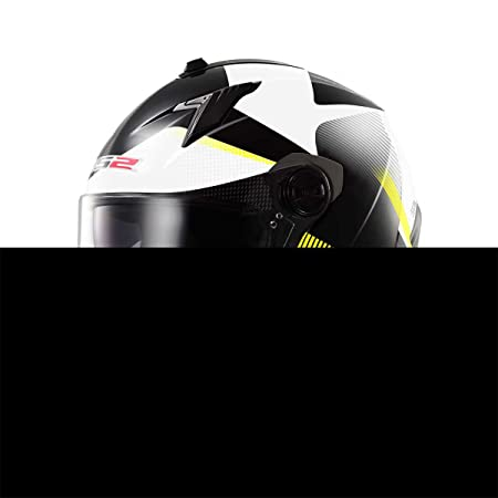 CASQUE INTEGRAL FF322 CONCEPT II TYRELL BLACK HI-VIS YELLOW TG M