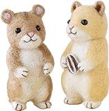 ハマナカ Felt wool mascot 羊毛フェルトキット「ハムスター(キンクマハムスター・ジャンガリアンハムスター)」 Designed by tobira 須佐沙知子