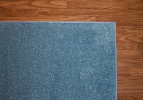 2'x3' Area Rug. Color: Teal. Very THICK, PLUSH and LUXURIOUS. Many sizes and 20 vibrant