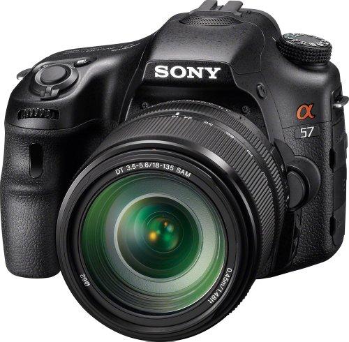 Sony Alpha SLT-A57M 16.1 MP Exmor APS HD CMOS