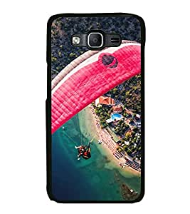 Paragliding 2D Hard Polycarbonate Designer Back Case Cover for Samsung Galaxy On7 G600FY :: Samsung Galaxy On 7 (2015)