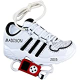 Personalized Running Shoe Sports Christmas Ornament