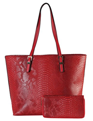 rimen-co-pu-leather-solid-snake-skin-bag-in-bag-tote-with-wallet-2-pieces-set-womens-purse-handbag-s