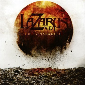 Onslaught by Lazarus A.D. (2009) Audio CD