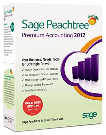 Sage Peachtree Premium Accounting 2012 MU [OLD VERSION]