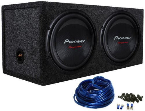 package 2 pioneer ts w310s4 12 2800 watt 4 ohm chion series subwoofer rockville rd12