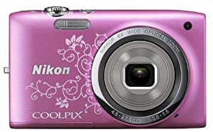 Nikon COOLPIX S2700 16 MP Digital Camera with 6x Optical Zoom and 720p HD Video (Decorative Pink)