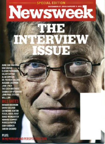 newsweek magazine covers 2011. Publisher: Newsweek Magazine