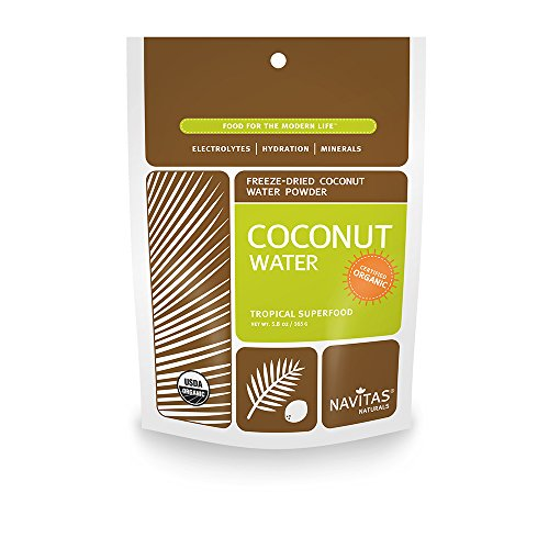 Navitas Naturals Organic Coconut Water Powder, 5.8-Ounce Pouches (Coconut Hydration Mix compare prices)