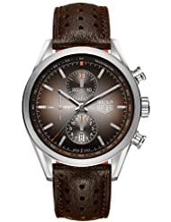 Special Price Tag Heuer Carrera 300 SLR Brown Dial Chronograph Mens Watch CAR2112FC6267 Deals
