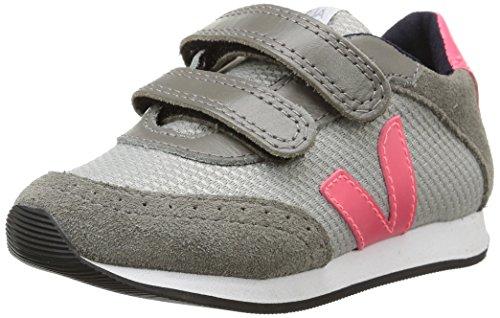 Veja - Arcade, Sneakers per bambine e ragazze, grigio (1160/silver/grey/rose fluo), 30