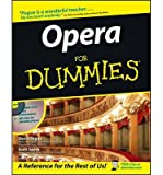 img - for [(Opera For Dummies )] [Author: David Pogue] [Sep-1997] book / textbook / text book
