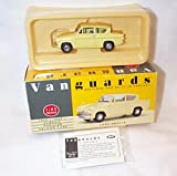 Corgi vanguards ford anglia yellow car 1.43 scale limited edition diecast model
