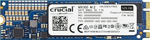 Crucial MX300 SSD da 525 GB, M.2, SATA