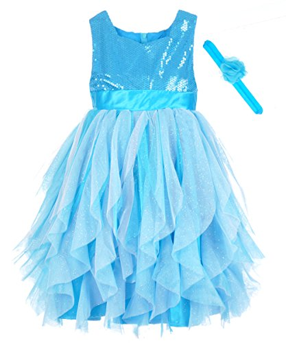 "Disney Frozen Little Girls' Toddler ""Elsa"" Dress with Headband"