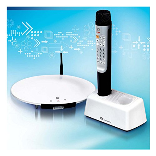 Kumyoung Khm-500 Home Party Portable Korean Karaoke Singing Machine System 1 Wireless Microphone Included - Korean Edition