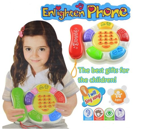 Enlighten Phone Kid's Music Learning Toy Phone