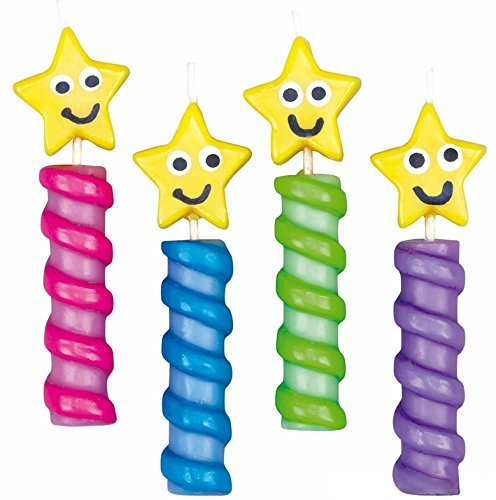 Wilton Chunky Stars Birthday Candles - 1