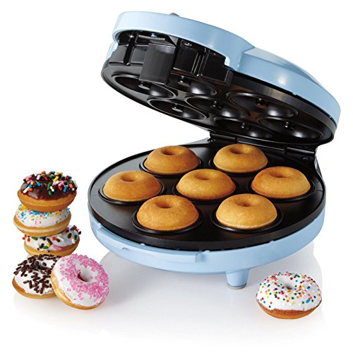 New Shop Rival Fprvdmm921 Mini Donut Maker, Blue Ships Within 2 Business Days!!