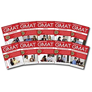 Manhattan GMAT Complete Strategy Guide Set, 5th Edition (Manhattan GMAT Strategy Guides) [Paperback]
