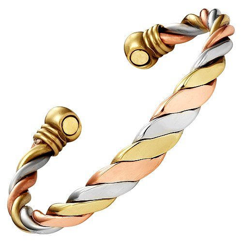 Ladies Bangle Bracelet. Brand New in Gift Pouch with Strong 3000g Magnets